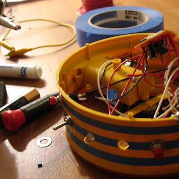 circuit bending drum